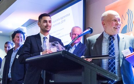 South Australia Apprentice Awards 2019 winner Ben Winter