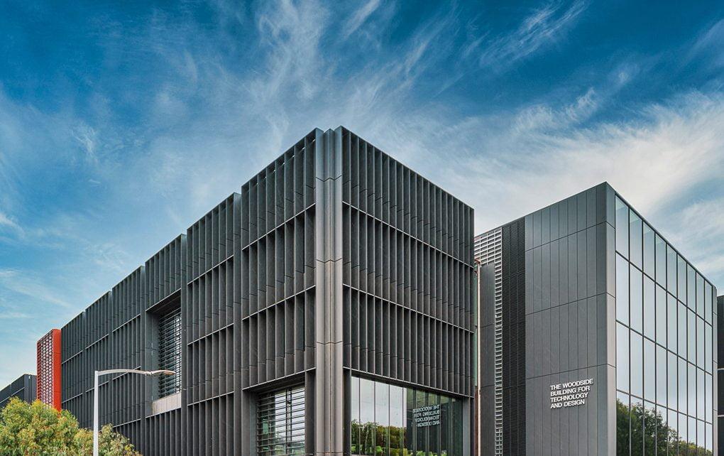 Monash University's Woodside building adheres to Passive House standards.